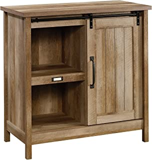 "Sauder Adept Storage Accent Storage Cabinet, For TV's up to 39"", Craftsman Oak finish"