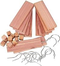 Household Essentials 35780-1 Cedar Hang Up Set, Brown