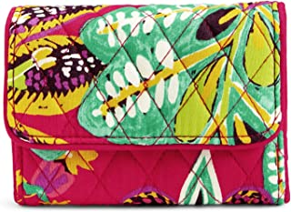 Vera Bradley Women's RFID Riley Compact Wallet-Signature