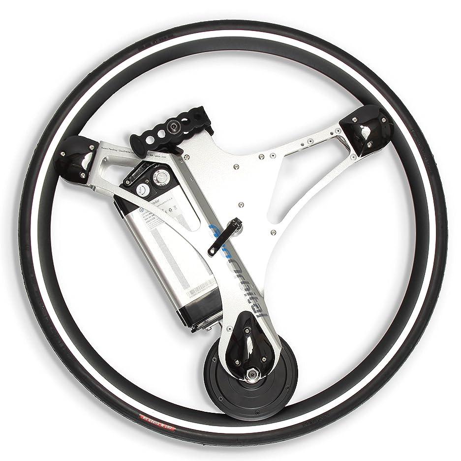 電子レンジむちゃくちゃ神聖GeoOrbital(電動自転車のホイール) Electric-Powered Bicycle Wheel - Turn Any Regular Bike Into a Self-Moving Vehicle, No Pedaling Required (20mph, 500W Motor) - Easy 60 Second No-Tool Installation