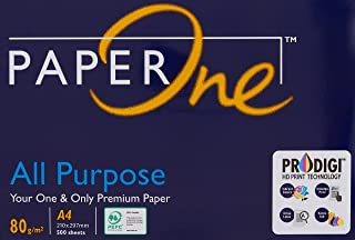 Paperone All Purpose, A4 80 GSM, 1 Ream, 500 Sheets