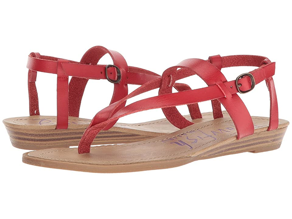 Blowfish Berg (Red Dyecut PU) Women