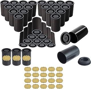Filmdose mit Kappen für 35 mm Folie, Schwarz 30