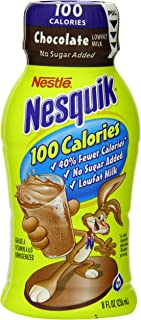 Nestle Nesquik Ready-To-Drink Flavored Milk, 100-Calorie Low Fat Chocolate (1% Milkfat), 8-Ounce Bottles (Pack of 15)