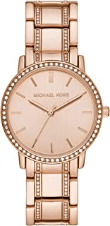 Michael Kors Women's Quartz Watch analog Display and Stainless Steel Strap, MK3538