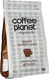 Coffee Planet Organic Medium Roast Ground (250 gm)