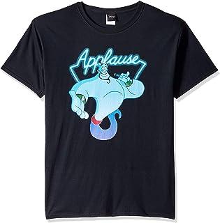 Disney Men's Aladdin Genie Applause Humor Graphic T-Shirt