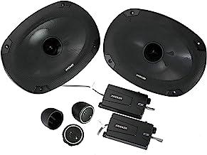 Kicker 46CSS694 Car Audio 6x9 Component Full Range Stereo Speakers Set CSS69 photo