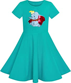 Sunny Fashion Girls Dress Owl Ice Cream Sequin Everyday Dress