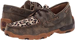 Distressed/Leopard