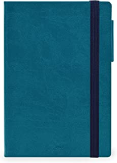 Legami - Agenda diaria de 12 meses 2022, grande, color azul