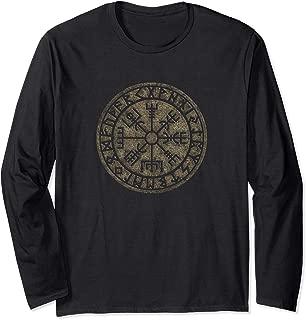Vegvisir Viking Compass Futhark Runes Protection Long Sleeve
