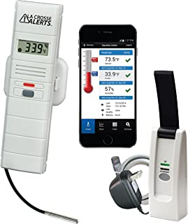 La Crosse Alerts Mobile 926-25102-GP Wireless Monitor System Set with Wet Probe