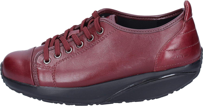 MBT mode -skor -skor -skor kvinnor läder lila  blixtnedslag