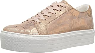 Kenneth Cole New York Women's Abbey Platform Lace up Leather-Techni-Cole Sneaker