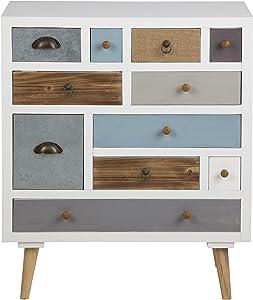 AC Design Furniture Cassettiera suwen Multicolori cassetti