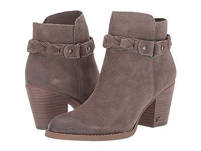 Sam Edelman Minetta (Flint Grey Velutto Suede Leather) Women