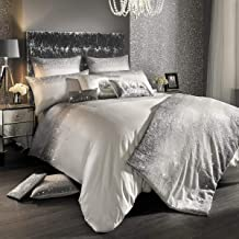 KYLIE MINOGUE VARI MINERAL OMBRE SATIN 200TC PAIR OF SQUARE PILLOWCASES