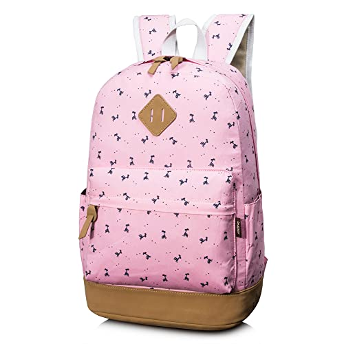 Leaper Fashion School Backpack for Women College Bookbag Shoulder Bag Daypack