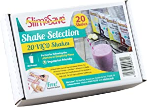20 Slim Save High Protein Low Carb Meal Replacement VLCD Shakes – Main 4 Flavours Estimated Price : £ 23,99