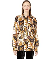 The Kooples - Royal Equestry Print Top