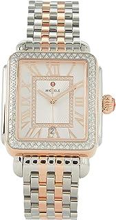 Deco Madison Two-Tone 18K Pink Gold Diamond Watch