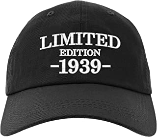 Cap 80th Birthday Gifts, Limited Edition 1939 All Original Parts Baseball Hat