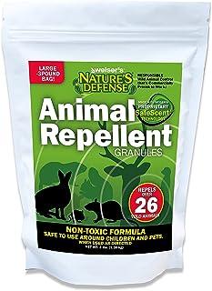 Nature's Defense Animal Repellent Granules, Large 3-Pound Bag