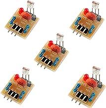5V Laser Receiver Sensor Detection Module Non-Modulator Tube for Arduino Geekstory(Pack of 5)