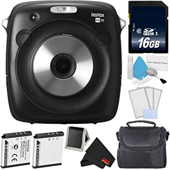 Fujifilm Instax Square SQ10 Hybrid Instant Camera Accessory Bundle - Advanced