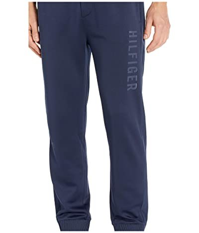 Tommy Hilfiger Adaptive Sweatpants with Pull Up Loops (Navy Blazer) Men
