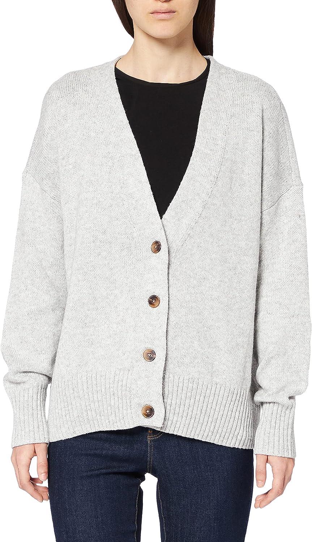 online shop Amazon Brand - Meraki Classic Women's V-Neck Cardigan Boxy Sweater
