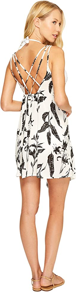 Roxy - Windy Fly Away Print Dress Cover-Up