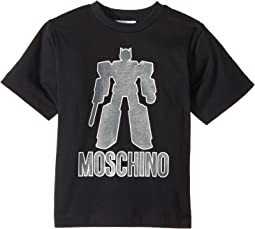 Moschino Kids - Graphic Transformer Short Sleeve T-Shirt (Little Kids/Big Kids)