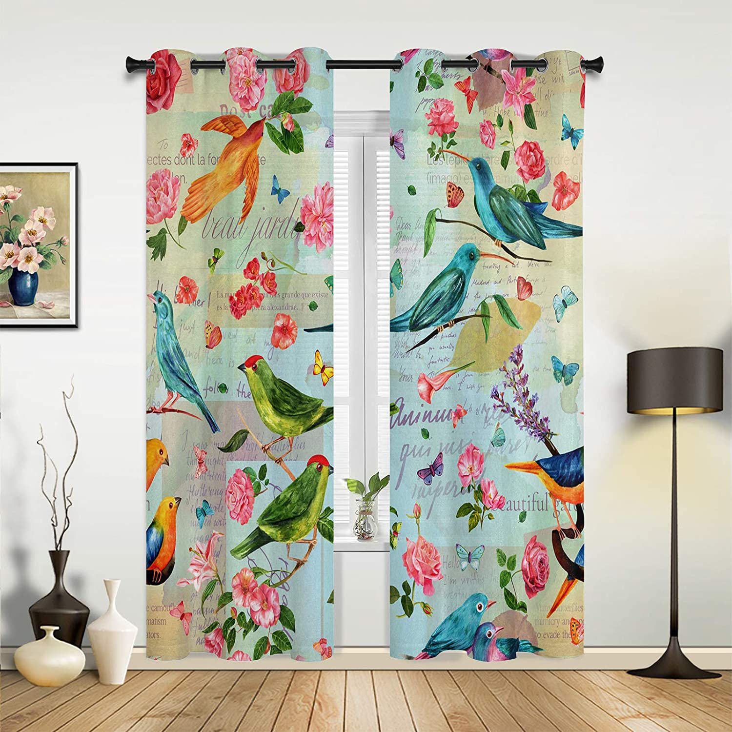 Window Sheer Curtains for Bedroom Living Genuine Free Shipping Weekly update Spring Room Cu Colorful