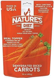 Nature's Diet Pet Carrots Effective Dog Diarrhea Relief and Natural Digestive Supplement