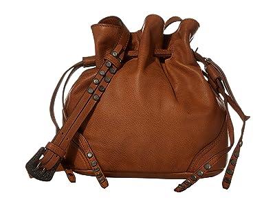 FRYE AND CO. Dallas Crossbody (Cognac) Cross Body Handbags