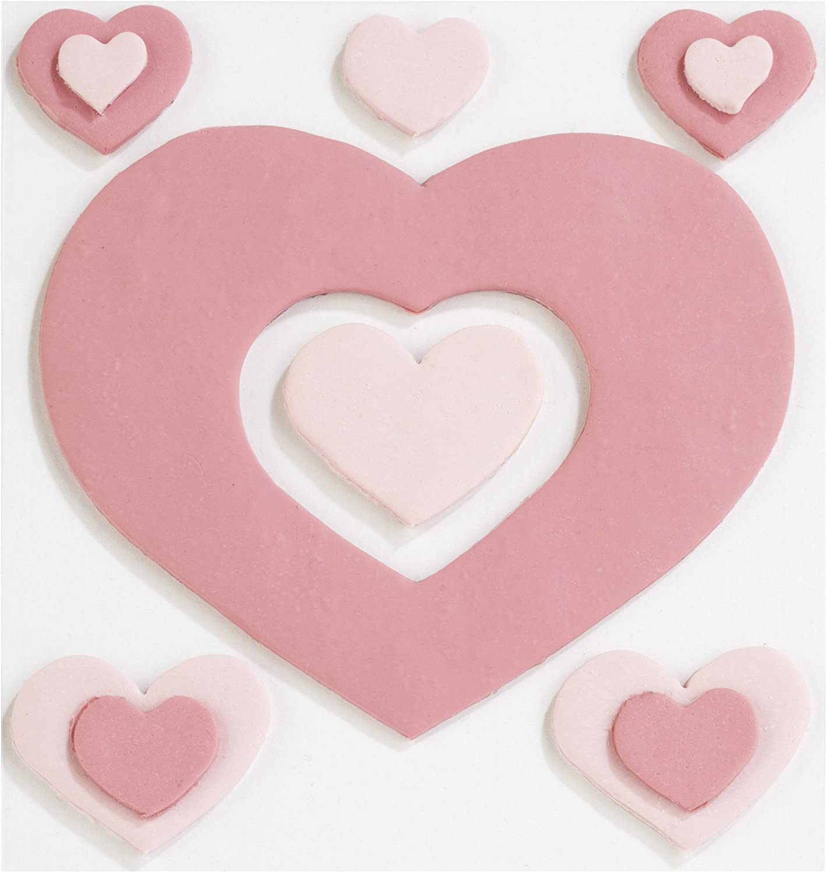 Jolee's Confections Stickers-Fondant Hearts B0077HHM7S   Wunderbar