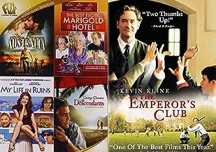 Golden Century of Drama Club 5-Movie Bundle - Australia, The Best Exotic Marigold Hotel, My Life in Ruins, The Descendants, & The Emperor's Club 5-DVD Bundle