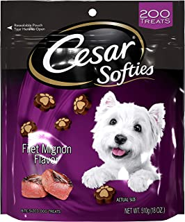 Cesar Softies Treats Mignon Holiday