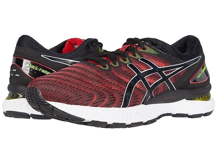 ASICS  GEL-Nimbus 22 (Classic Red/Black) Mens Running Shoes
