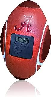 Buzzer Beater Football Alarm Clock, Alabama