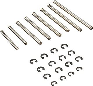 DuraTrax Hinge Pin Set (8) w/E-Clips (16) Nitro Evader ST