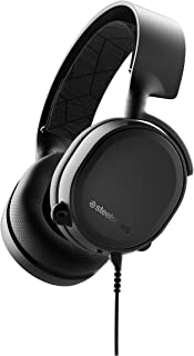 SteelSeries Arctis 3 Console (2019 Edition) Stereo Wired Gaming Headset for PlayStation 4, Xbox One, Nintendo Switch, VR, Android and iOS - Black (Renewed)