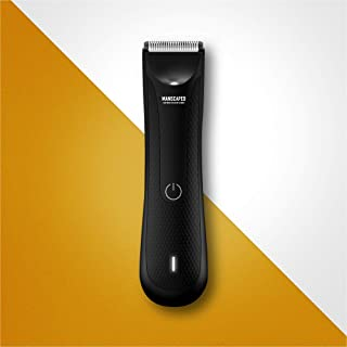 MANSCAPED™ Electric Groin Hair Trimmer, The Lawn Mower™ 3.0, Replaceable Ceramic Blade Heads, Waterproof Wet / Dry Clipper...