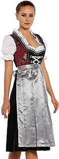 Lukas Dirndl Dress 3 pieces Authentic Bavarian Floral Exlusive