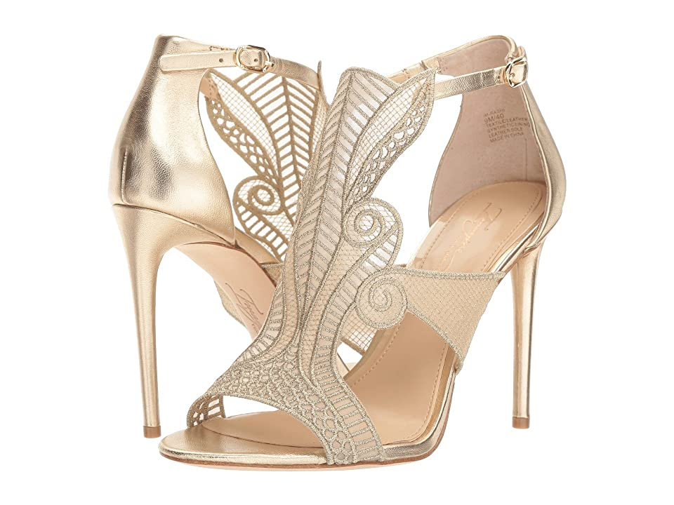 Imagine Vince Camuto Rashi (Soft Gold/Natural Silky Mesh) High Heels