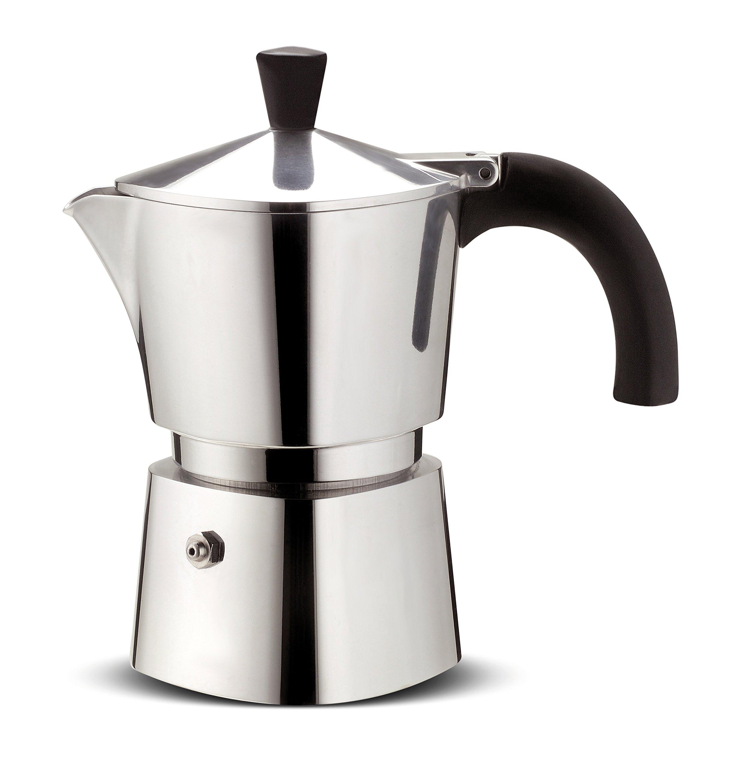 Lagostina Brava cafetera Acero Capacidad 1 Taza de Aluminio, Plateado: Amazon.es: Hogar
