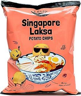F.EAST Singapore Laksa Potato Chips 70 Gram Bags