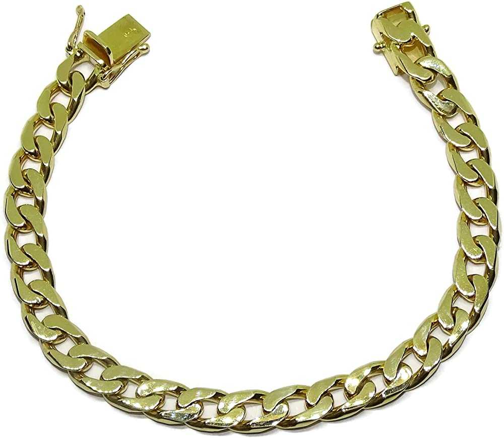 Bracciale da uomo in oro giallo 18 carati 88004205